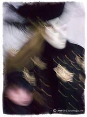 Star of David, bluring image
