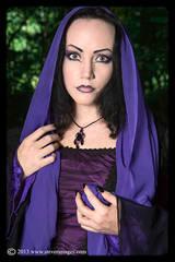 Lady Amaranth, Model in purple, graveyard