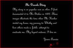Dracula story, Whitby