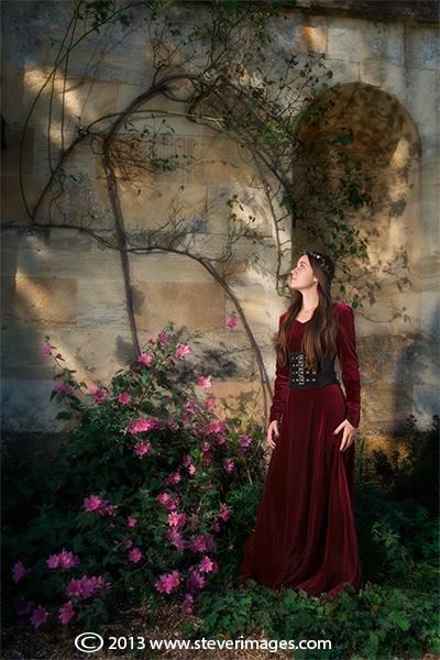 Enchanted garden, gothic, photo