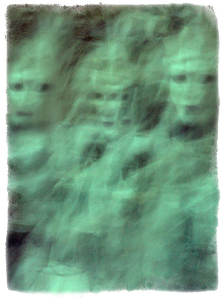 Another ghostly image where i have added a third figure.