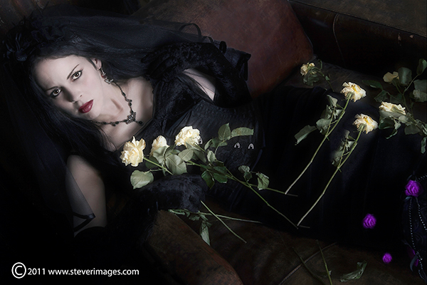 Gothic, Dying Bride, Dead roses, photo