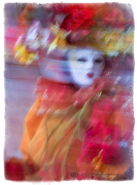 Twirling, Masks, Venice Carnival, photo