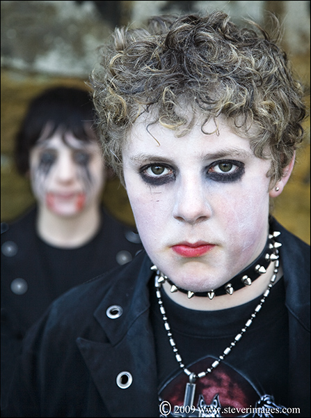 Young Goths, Whitby, photo