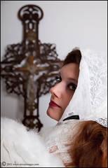 Angel, White Angel,Crucifix