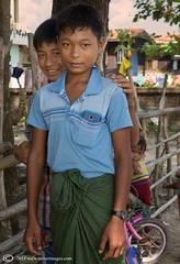 two Burmese boys