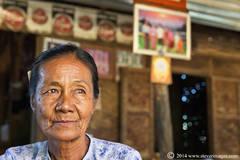 woman Portrait, village in Burma (Myanmar)