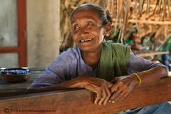 Elderly woman, portrait of elderly woman