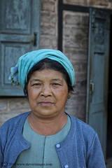 Portrait, Woman, Burmese woman