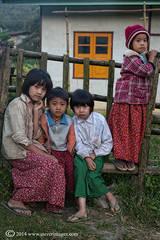school children, Burma