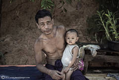 Father and Child, Yangon (Rangoon)