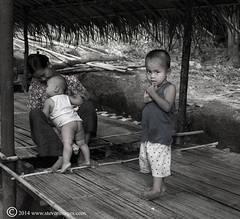 Child, wary, mum with kids