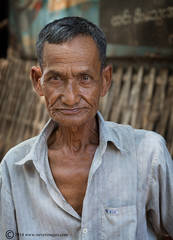 Man, Burma, Portrait