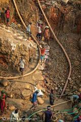 Stone quarry Bangladesh