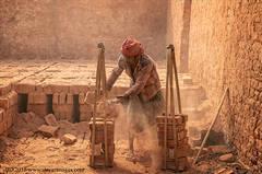Brick factory worker, Bangladesh