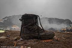 Rubbish dump, Boots, Bangladesh
