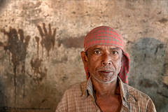 indoor male worker portrait, Bangladesh