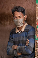 Portrait, mask, Bangladesh