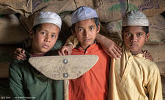 Three Muslim boys