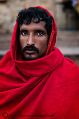 Portrait, Hindu man, Varanasi India