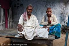 Indian men, Greeting