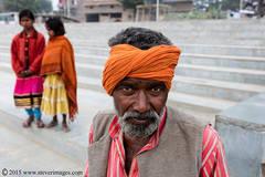 Portrait, Indian Man