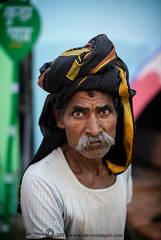 Portrait, Indian Man, Sonepur Mela