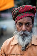 Indian man, Portrait, sonepur Mela