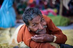 Portrait, Indian man, Sonepur Mela, India