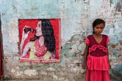 Portrait, Indian girl, Sonepur Mela, India