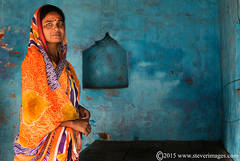 Portrait, Indian woman, Sonepur Mela, India