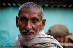 Portrait , Indian man, sonepur Mela, India
