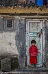 Portrait , India child