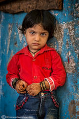 Portrait , Indian child