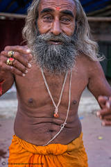 Holy man, Portrait, Indian man