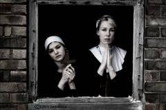 prayers, Nuns, Abandoned,cross