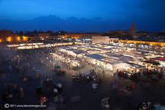 Night market, Marrakech