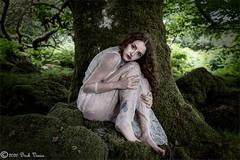 Female portrait, Melancholia, Darkmoor