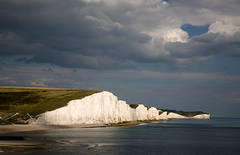 Seven Sisters, late afternoon light