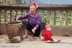 Portraits, People of north Vietnam