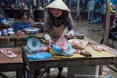 Market stall, Bac Ha market North Vietnam