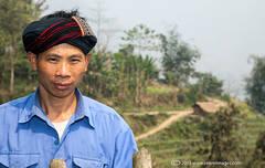 Local man, North Vietnam countryside
