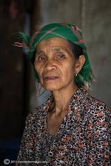 Older woman portrait, North Vietnam
