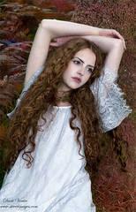 Female Portrait, outdoors, Dartmoor