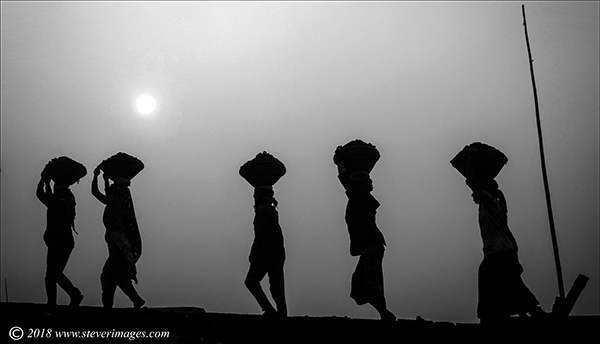 Coal carriers, Bangladesh