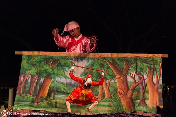 Puppet show, photo