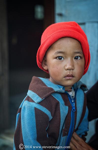 Portrait of child, photo