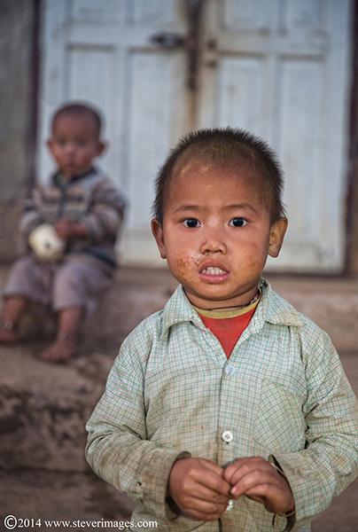 village children, Burmese children, photo