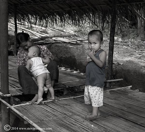 Child, wary, mum with kids, photo