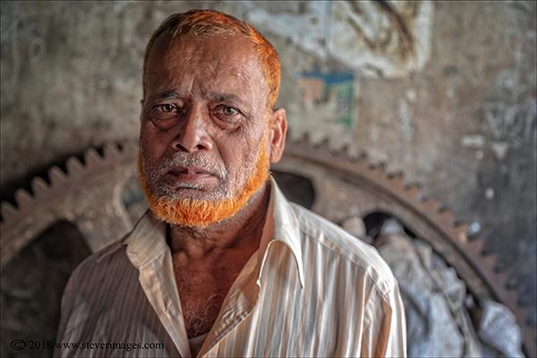 Male Portrait, Bangladesh, photo